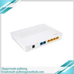 Oryginalny nowy Hua wei HG8342M Echolife Gpon Terminal  onz  4LAN + 2 garnki  h.248 i SIP wersja w języku angielskim  HG8240F skontaktuj się z nami