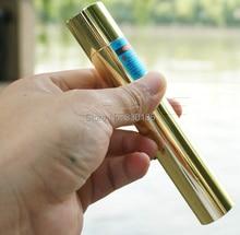 High Power military 500000mw 500W 450nm blue laser pointer flashlight burning match/dry wood/black/cigarettes Lazer+Glasses+gift