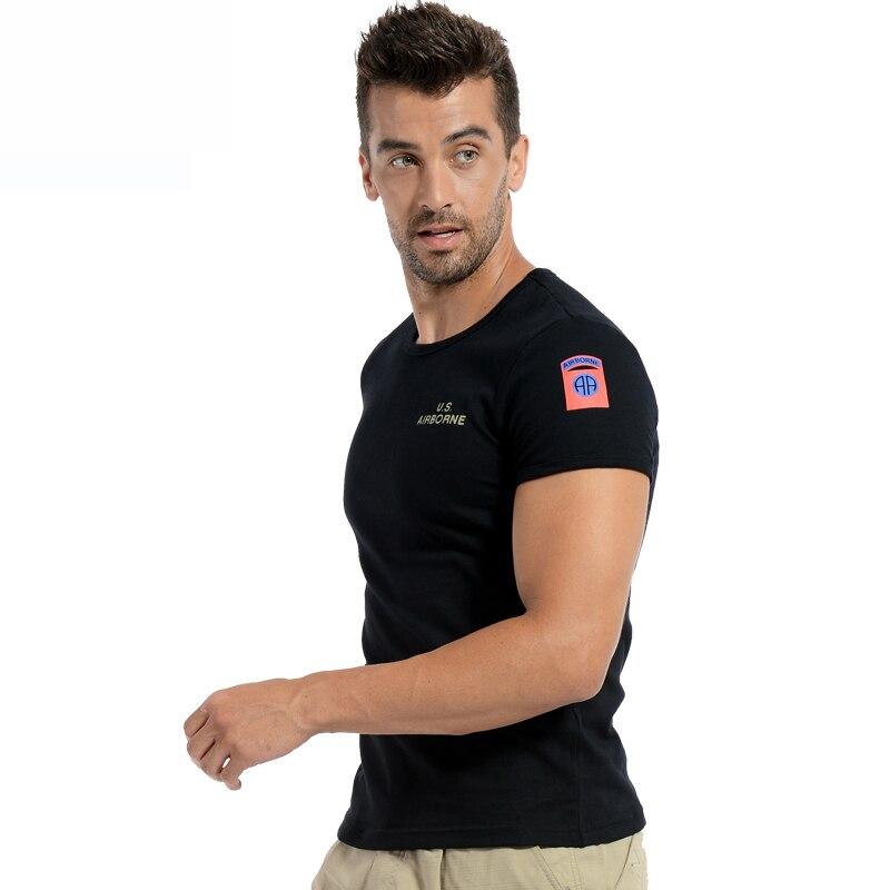 Köynək Kişi Pambıq Əyləncəli İncə Bərk T-shirt Kişi İdman - İdman geyimləri və aksesuarları - Fotoqrafiya 4