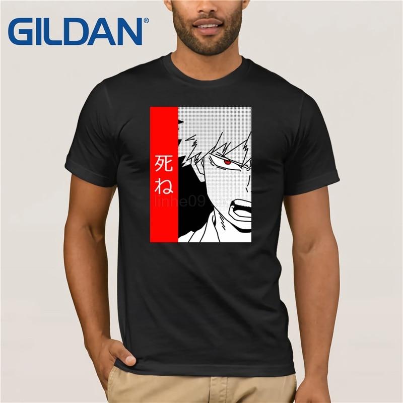 Рубашка GILDAN Boku no Hero Academia Inspired-рубашка Katsuki Bakugou-рубашка из аниме «Мой герой Академии», манга-рубашка из аниме BNHA