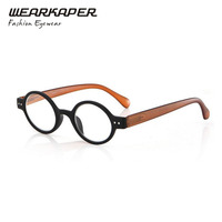 Retro Style Optical Glasses High Quality Eyewear Vintage Glasses Frame Round Reading Glasses 1 0 1