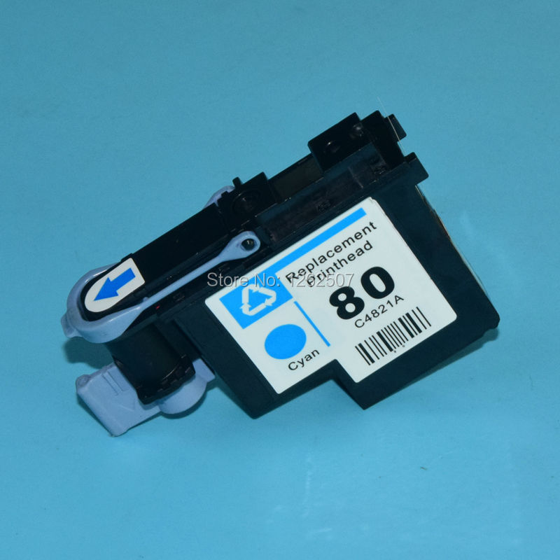 цена C4821A Cyan printhead for hp 80 print head for hp inkjet pro 1050 1055 1000 1000plus printer one piece