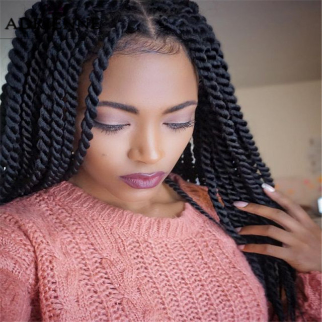 Synthetic Crochet Braids 24 Long Crochet Hair Extensions Curly