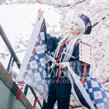 Touken Ranbu Hakusan Yoshimitsu Cosplay Costume COSPLAYONSEN full set Hot New - DISCOUNT ITEM  0% OFF All Category