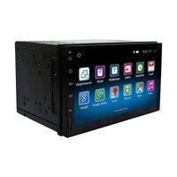7 дюймовый 1080 P HD сенсорный экран автомобиля MP5 ОС автомобильный Радио 1024*600 HD gps навигация Wi Fi версия автомобиля плеер RM CT0009 для Android 5,1