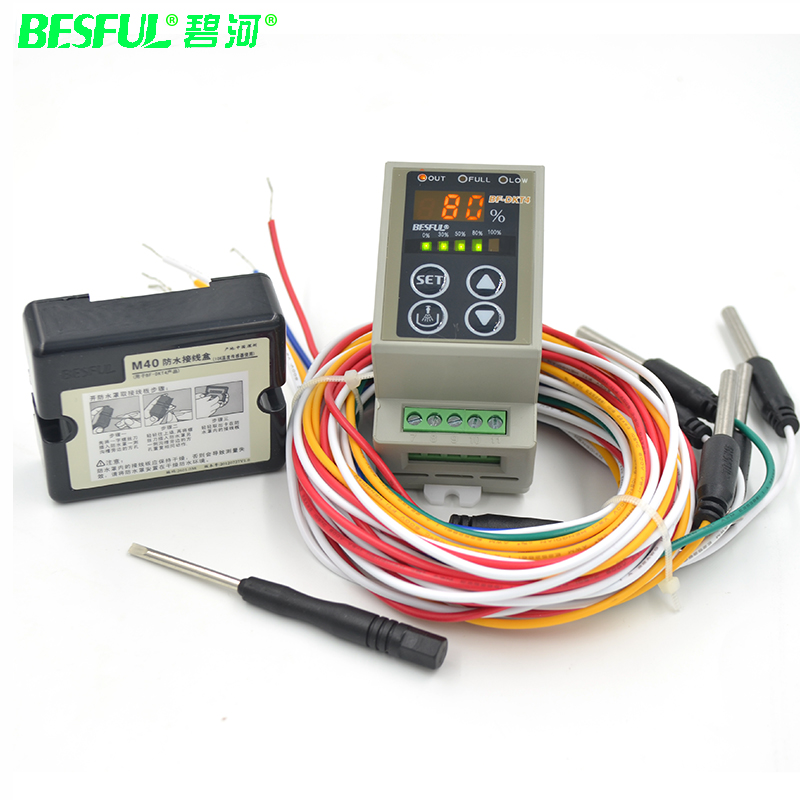 BESFUL BF-DKT4 adjustable digital display level controller water level switch water tank water automatic control instrument цена