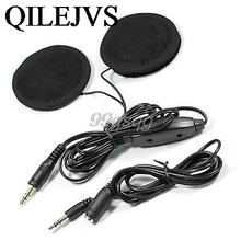 1Pc Motorcycle Helmet Speakers Stereo for MP3 CD Radio New Drop shipping