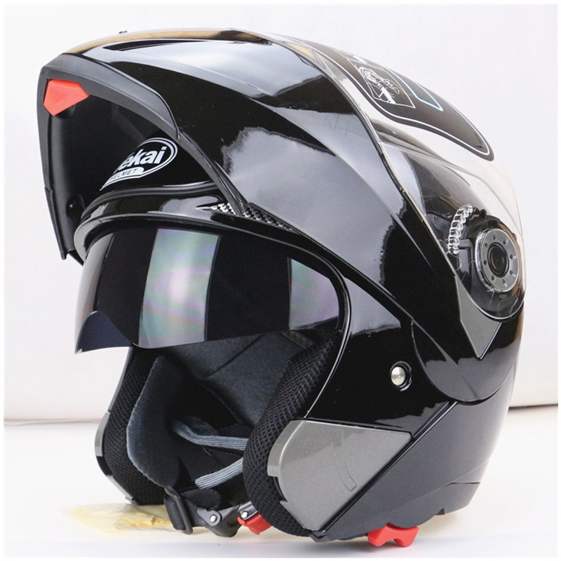 EE support 100 Quality Double Lenses Motorcycle font b Helmet b font Motos Motocross font b