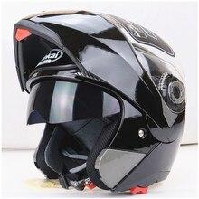 Apoyo EE 100% Calidad Casco Lentes Dobles Motocicleta Motos de Motocross Casco de La Cara Llena Cascos de Seguridad Anti-vaho XY01