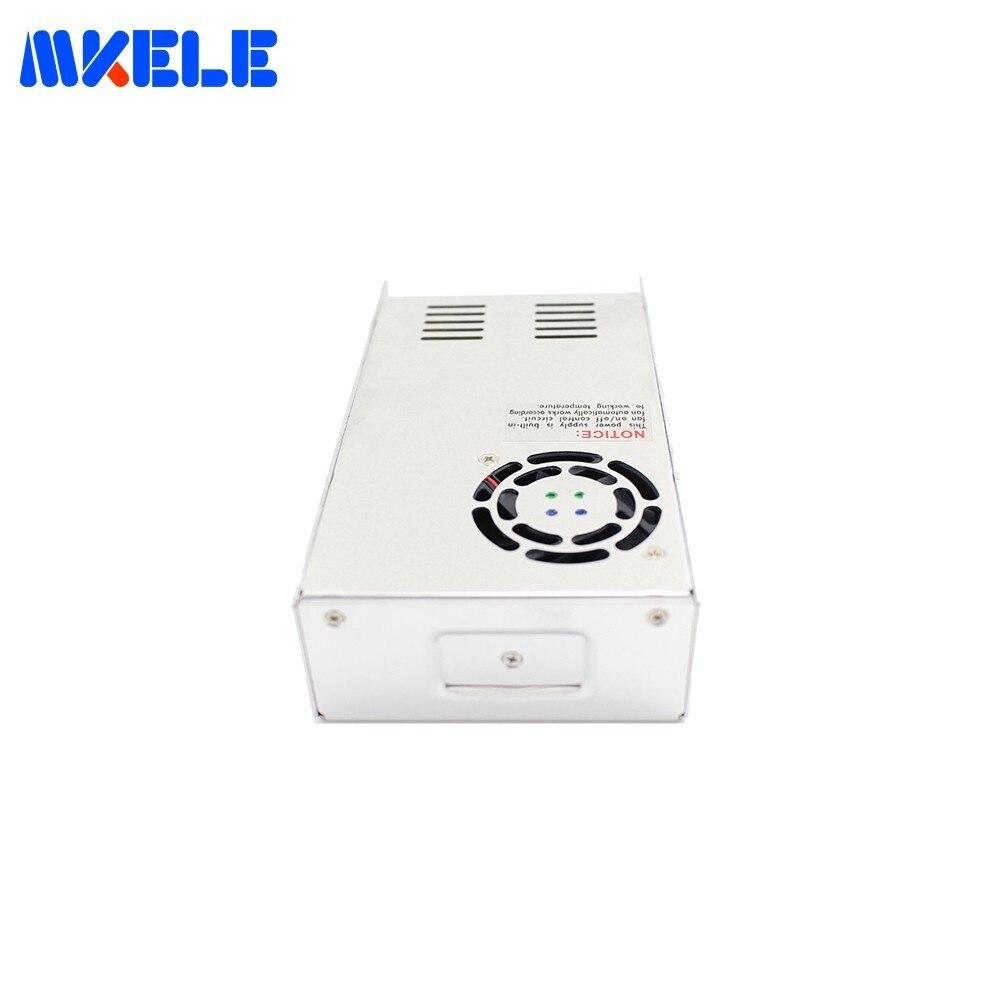 DC alimentation commutation Mini taille MS-500 500 W 41A 12 V 24 V pour DC12V 24 V tension transformateur AC-DC SMPS avec panneau d'affichage - 3