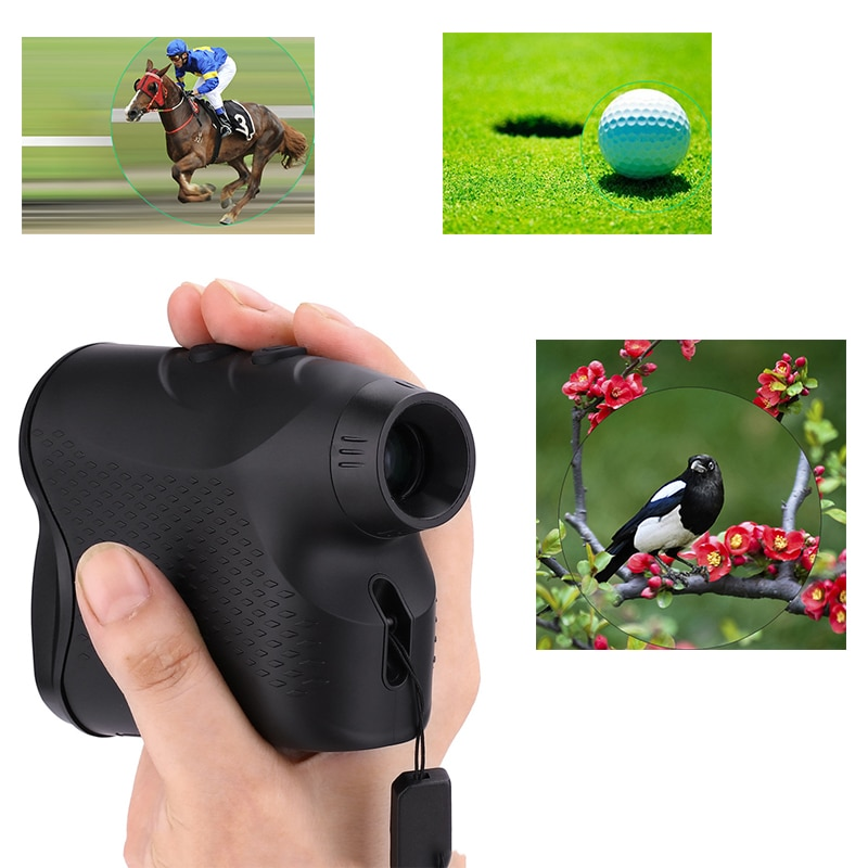 Laser Rangefinder Golf Hunting Measure Telescope Digital Monocular Laser Distance Meter Speed Tester Laser Range Finder hunting tactical golf distance meter laser range finder speed tester monocular 6x21 600m laser rangefinder
