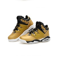 Big Size Men's Basketball Shoes Unisex Couple Sports Sneakers High Breathable Air Kids Children Training Basket Ball Shoes Youth