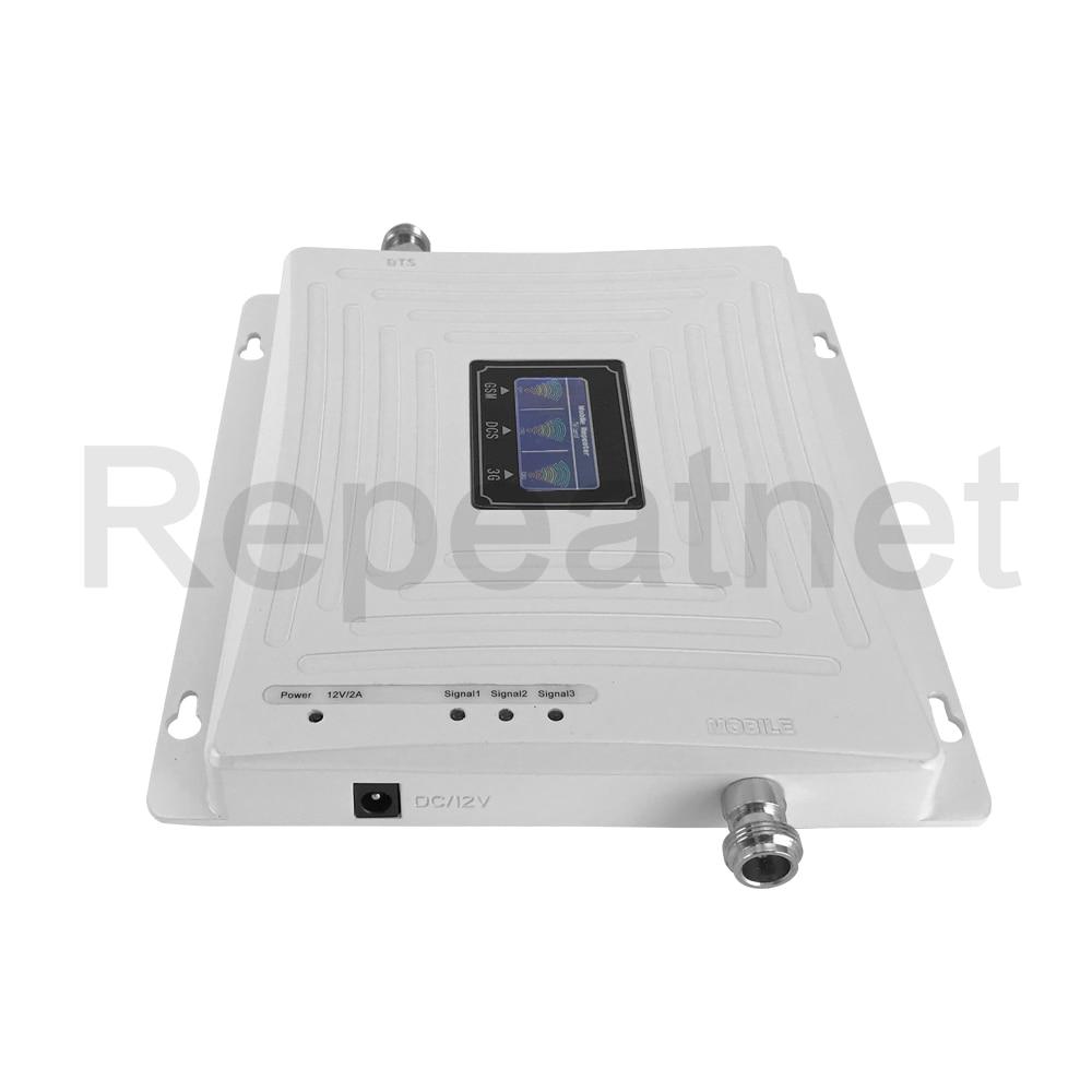 GSM 900mhz DCS 1800mhz WCDMA 2100mhz Repeater Tri Band Cellular - Ανταλλακτικά και αξεσουάρ κινητών τηλεφώνων - Φωτογραφία 4
