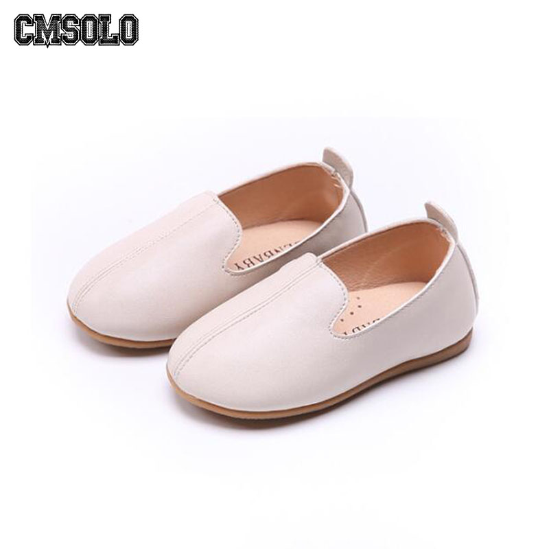CMSOLO Kids Loafers Autumn Summer Casual Shoes For Girls Boys Slip-on Beige Moccasins Toddler Shoes Baby Leather Hot Sell 2019  CMSOLO Kids Loafers Autumn Summer Casual Shoes For Girls Boys Slip-on Beige Moccasins Toddler Shoes Baby Leather Hot Sell 2019