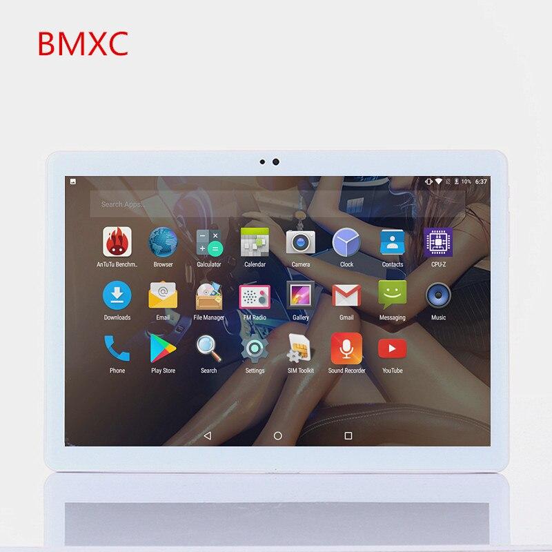 BMXC 10 inch Octa Core 3G WCDMA  Tablet PC android 7.0  1280x800 HD 4GB RAM 32GB ROM Wifi Bluetooth GPS FM tablets+gift bmxc 10 1 inch 3g 4g lte octa core tablets android 7 0 dual sim phone call wifi bluetooth gps fm 2gb 32gb 1280 800 hd tablet pc