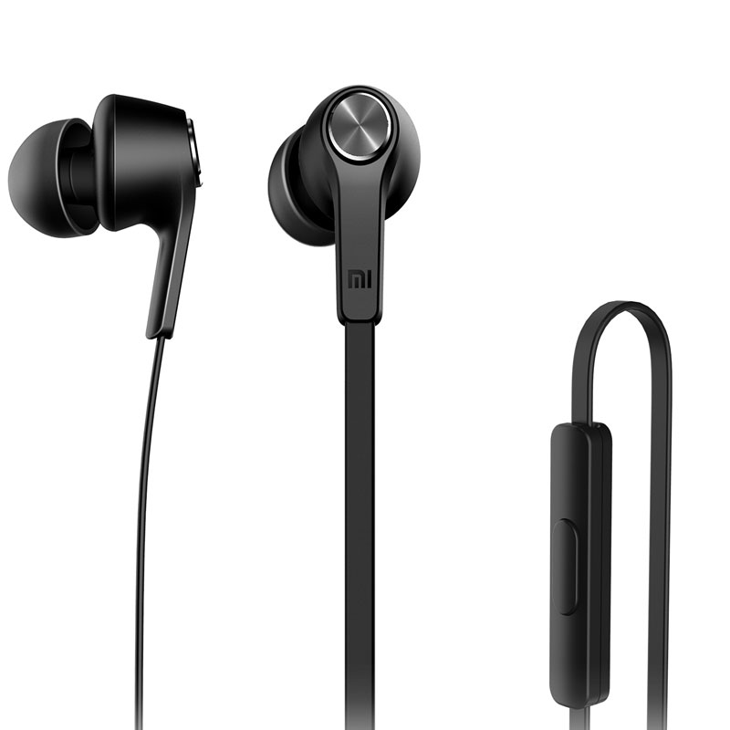 Original Xiaomi Bass Earphone Vogue Piston In-Ear Stereo Earphone with Remote Mic Earbud earphone for Samsung HTC IPod