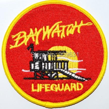 Baywatch logo patch.