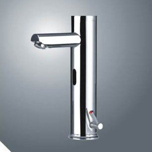 все цены на Free Shipping!Temperature sensitive sensor faucet .Automatic Sense Basin mixer tap.1pcs/lot онлайн