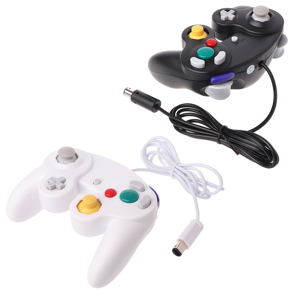 NGC Wired Game Controller GameCube Gamepad for WII Video Game Console Control with GC Port