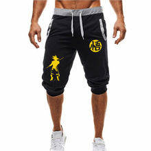 Hot-Selling Summer New Man's Shorts Casual Shorts Fashion Dragon Ball Goku print Sweatpants Fitness Short Jogger M-3XL(China)