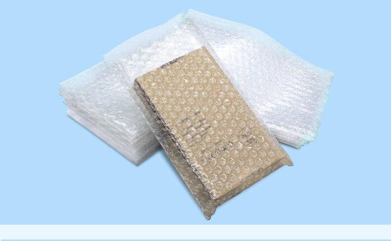100pcs/lot Air Cushion Seal Bubble Bag Bubble Envelopes Wrap Bags Pouches Packaging PE Mailer Packing