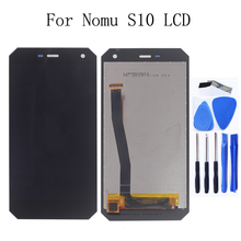 5.0 original LCD Display for NoMu S10 LCD +Touch screen glass digitizer components replacement mobile phone repair parts+Tools цена