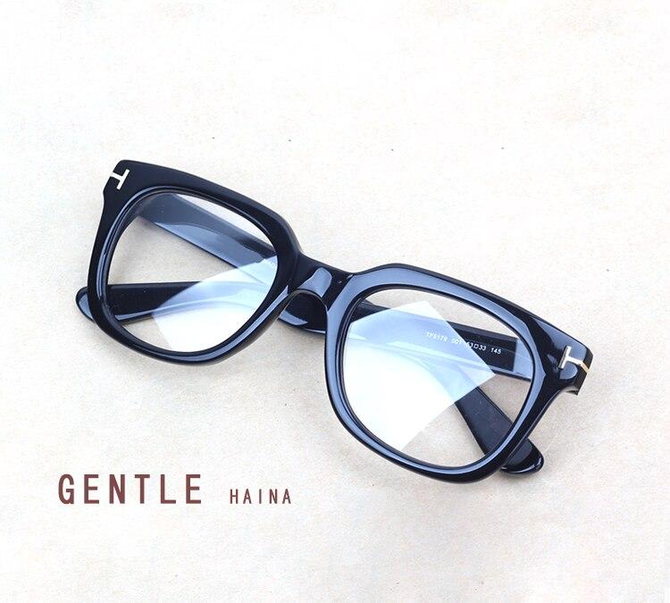 Vintage marque lunettes cadres femmes myopie lunettes optiques cadre lunettes pour hommes Tom rétro lunettes Oculos avec boîte d'origine