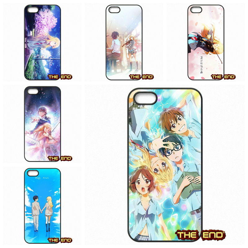 Kawaii Your Lie In April Wallpaper Cell Phone Case For Iphone X 4