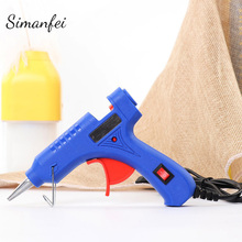 20W Repair Tool Heat Glue Gun + 7mm Hot Melt Sticks High Temp Heater
