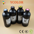 4 liters UV LED ink for PU / Leather / TPU / Canvas/ All soft material UV Curing ink B/C/M/Y/White/LM/LC
