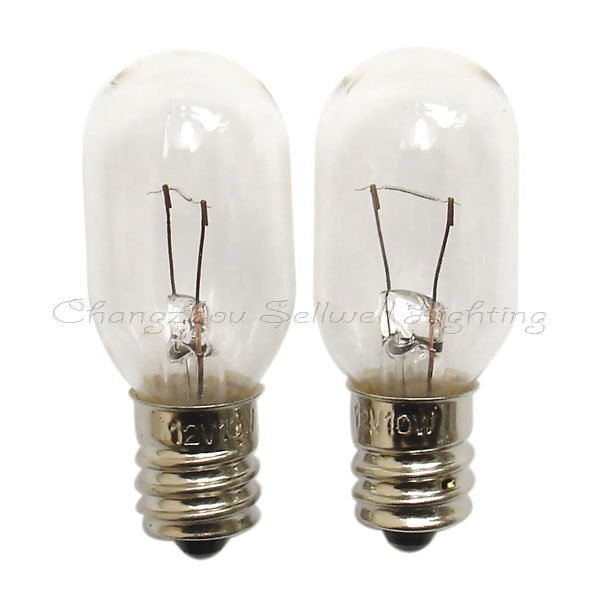 free shipping bulb light 12v 10w e12 t20x49 a305china mainland