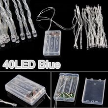 40 LED Strip light string stripe blue for. wedding Party
