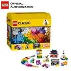 LEGO 583 pcs Klassieke Speelgoed Stapelen Blokken Doos Kinderen Speelgoed Educatief & Leren Lego Building Speelgoed Blocos De Construcao 10702 - 1