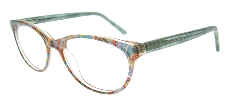 OCCI CHIARI Fashion Handmade Acetate Glasses Frame for Women