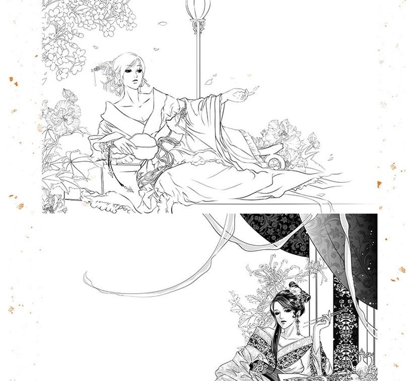 beleza antiga mulher pintura desenho tecnicas 01