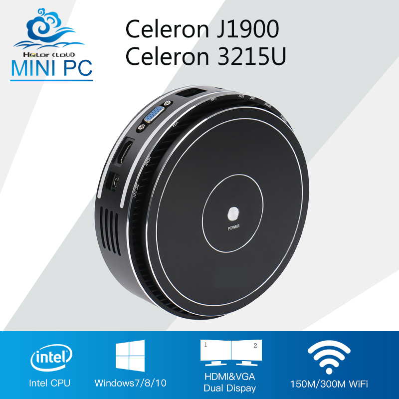 Mini Computer Windows 7 Mini PC Office Computer Quad Cores Celeron J1900 3215U CPU Desktop SPDIF Wifi BT4.0 For LOL DOTA 2 intel celeron cpu mini pc n3160 quad cores mini desktop computer with fanless windows 10 ddr3 8gb ram office computer