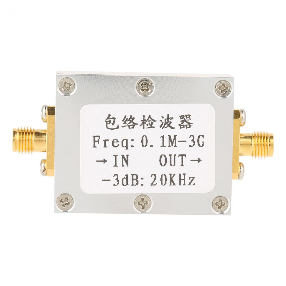 Rf Envelope Detector 01m 3ghz Wide Frequency Detection Module 20dbm Way To Do This Is Using An Circuit Like Signal Amplitude Board Meter In Meters From Tools