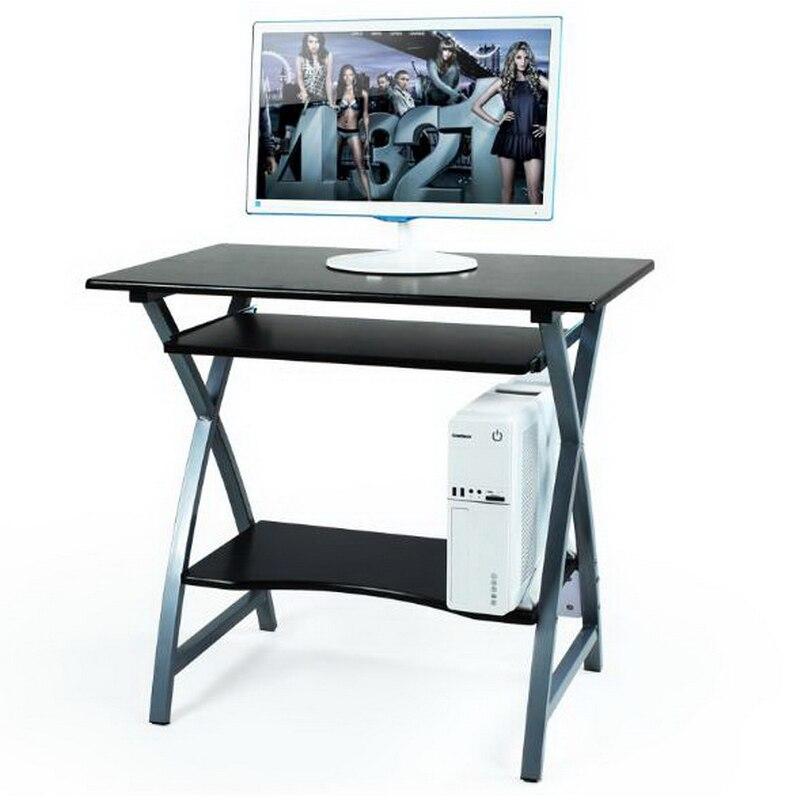 cm de acero de madera escritorio de la computadora mesa de casa de