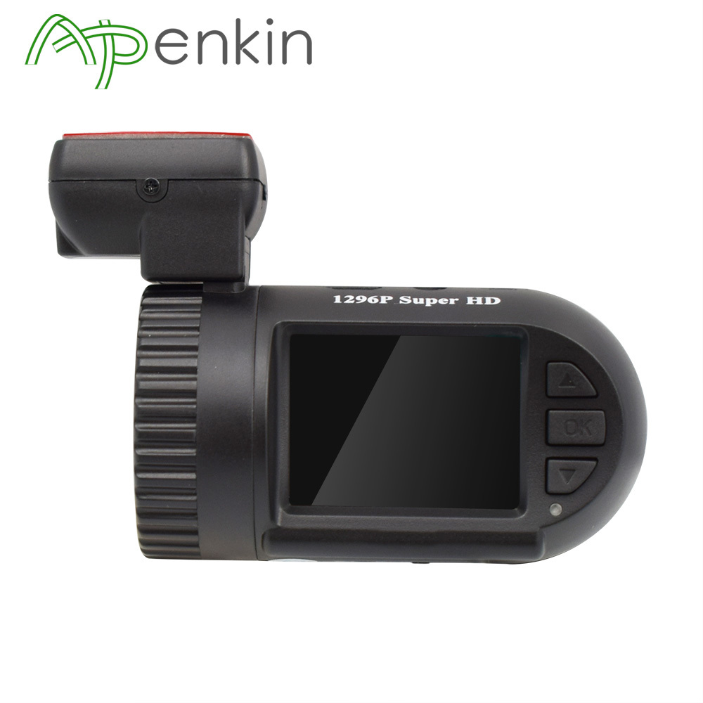 Arpenkin Mini 0805P GPS Car Dash Camera 1296P Capacitor G-sensor Parking Monitor Voltage Protect Video Recorder HD DVR Dash Cam