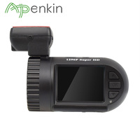 Arpenkin Mini 0805P GPS Car Dash Camera 1296P Capacitor G sensor Parking Monitor Voltage Protect Video Recorder HD DVR Dash Cam