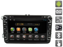 Android 4.2.2 Universal  Car DVD for Skoda  with 8″ Capacitive Touch Screen, AVS080AN (#881)
