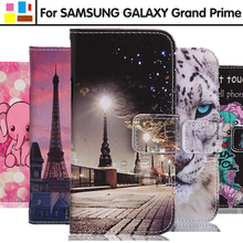 EiiMoo Чехол Для Samsung Galaxy Гранд Премьер-g530 G530H G531 G531H Мультфильм Бумажник Флип Кожаный Чехол Для Galaxy Гранд Премьер g531h