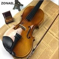 ZONAEL Full Size 4 4 Student Violin Beginner Fiddle F Musical Instrument Basswood V001