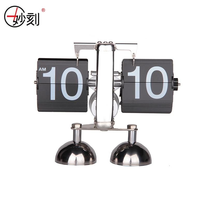 Reloj MIAO KE Reloj de alarma de doble campana de metal Reloj de giro - Decoración del hogar