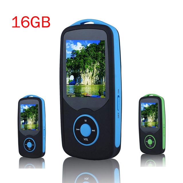 2016 Original RUIZU X06 Bluetooth mp3 Player 16 GB Esporte MP3 Player de Música Lossless de Alta Qualidade Gravador de Tela de 1.8 ''rádio FM