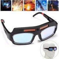 Solar Powered Auto Darkening Welding Mask Helmet Goggle Welder Glasses Arc PC Lens Great Goggles For