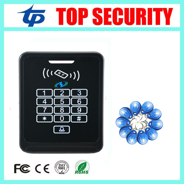High security door access control system 125KHZ RFID card access control for door security system 3000 users ID card reader