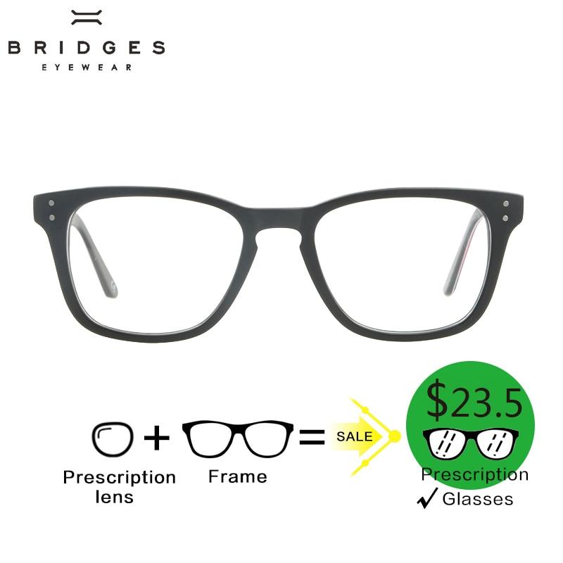 BRIDGES Acetát Női optikai szemüveg szemüveges divathoz Kék - Ruházati kiegészítők