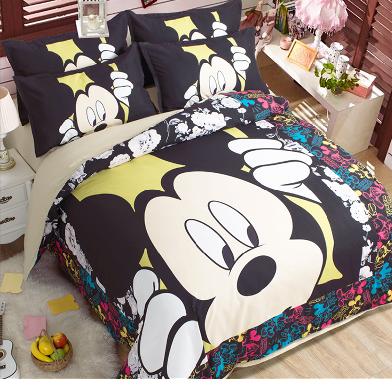 Popular Mickey Mouse Full Comforter-Buy Cheap Mickey Mouse Full Comforter lots from China Mickey ...
