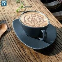 Xícara de café continental puxar flor personalidade criativa casa cerâmica copos chá da tarde pires cafeteira jarras leite